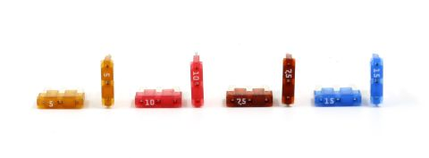 Automotive ATL (Micro3) - 2 of Each 5A, 7.5A, 10A, 15A - Pack of 8